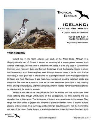 Iceland Set-Departure