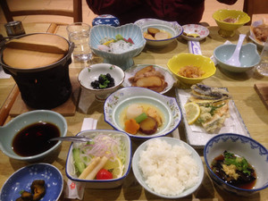 Home-cooked Japanese food