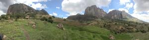 Tsaranoro Valley panorama