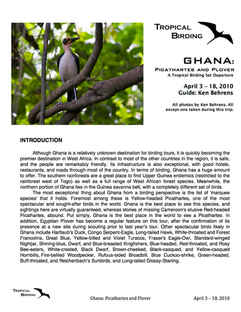 Ghana Set-Departure