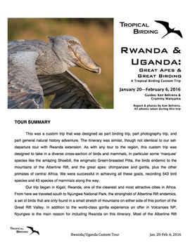 Rwanda & Uganda Custom