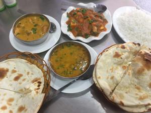 An Indian feast