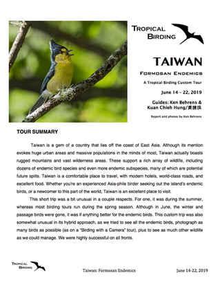Taiwan Custom