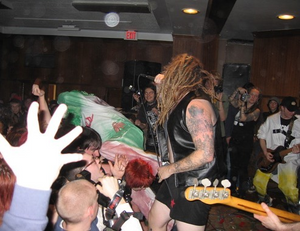 RAMBO playing a show