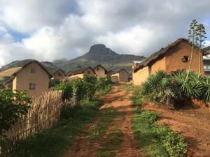 Medieval-looking village of Morarano