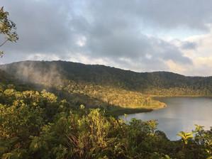 Magical forest and lake at Bemanevika
