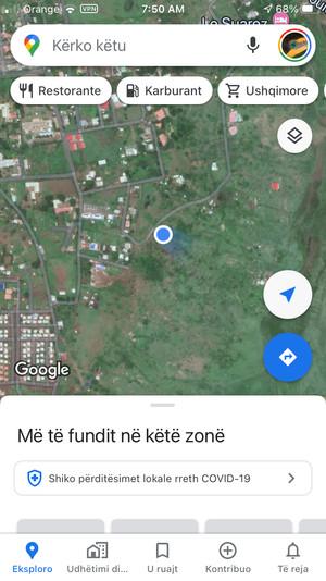 Google Maps... in Turkish