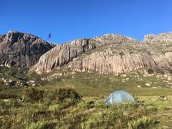 Camp below Pic Boby