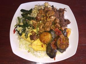 Indonesian vegetarian food
