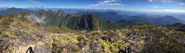 Marojejy summit panorama