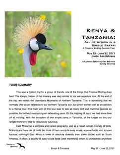 Kenya & Tanzania Custom