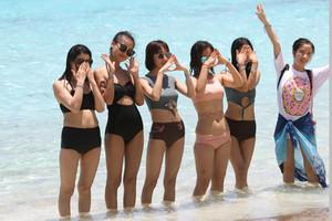 Tourists on Koh Similan, southern Thailand