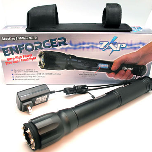 ZAP Enforcer - Linterna TASER de 2 millones de voltios