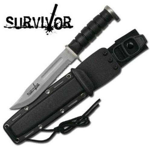 """Survivor """"Ace"""" 12"""" Navaja Fija supervivencia"""