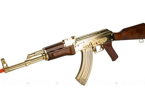 AK47 G&G EBB - Edición limitada 22K Chapada en Oro.
