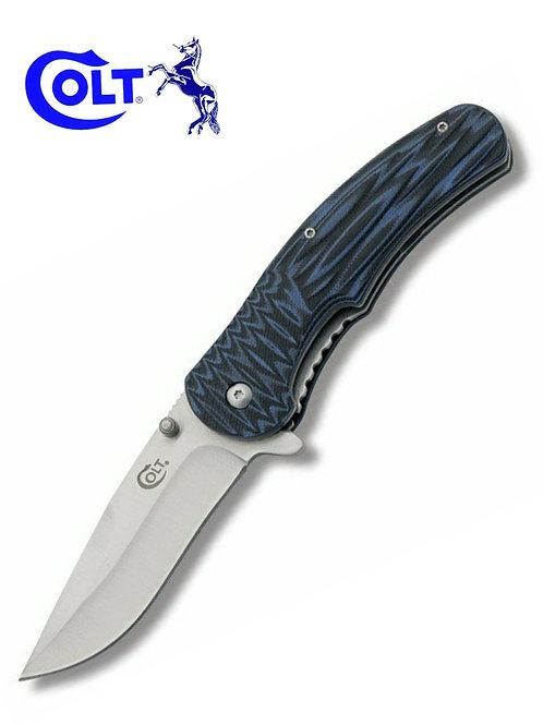 Colt EDG Black Blue Knife