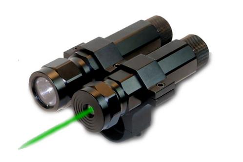 BSA Varmint Hunter Pro Laser Verde y Linterna 80 lumenes reales