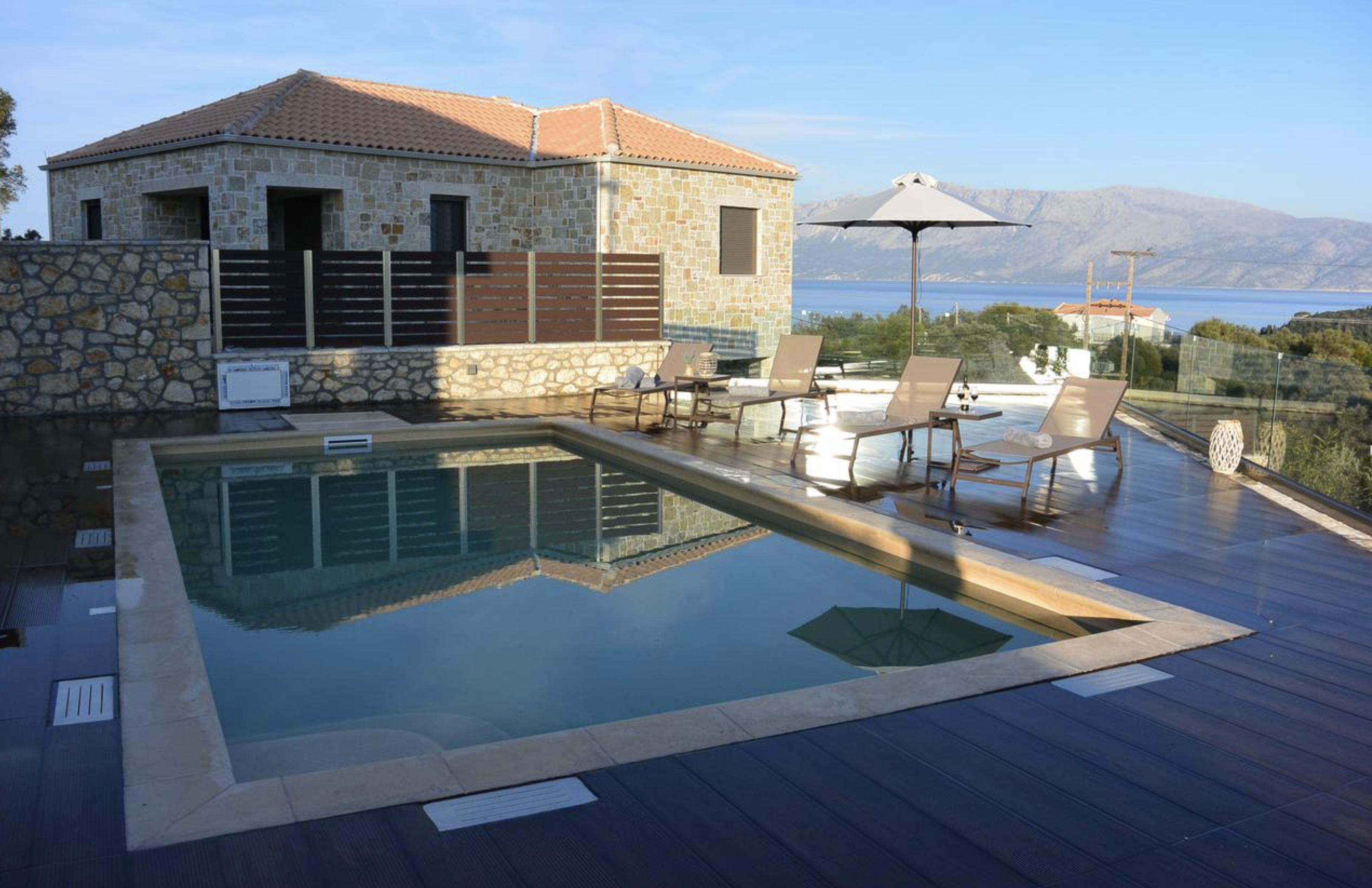 Twin Villas pool terrace