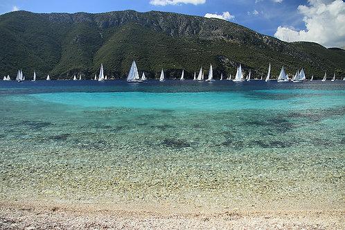 A3 Photograph of Agrilia Beach
