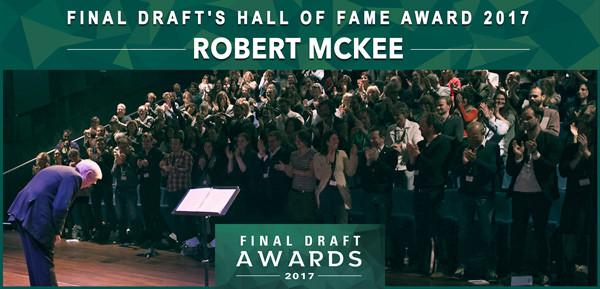 Final Draft hall of Fame Award Robert McKee