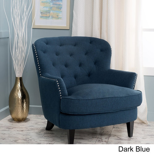 Diamond Tufted Club Chair