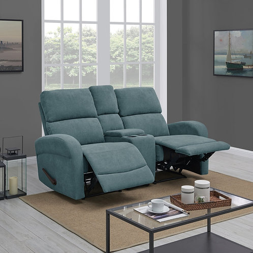 Copper Grove Herentals 2-seat Recliner Loveseat with Power Storage Console