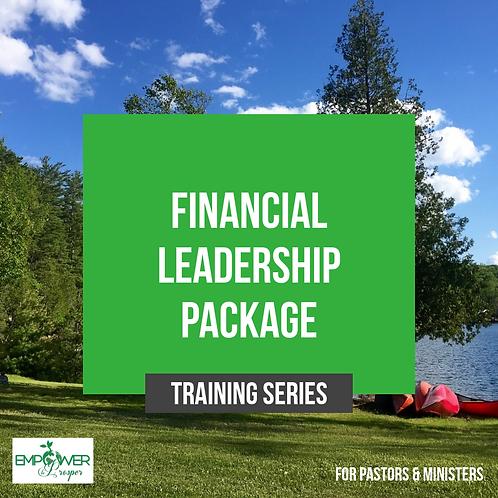 Financial Leadership Training Package
