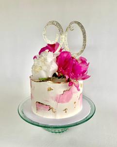 MG 90th Birthday Cake