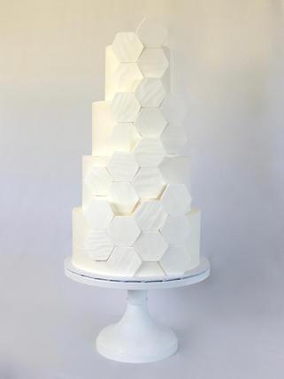 MG Hexagon Wedding Cake.jpg