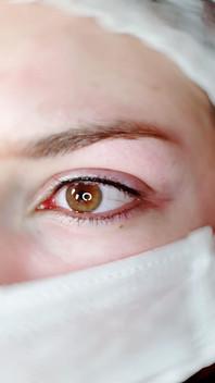 Ras de cils yeux