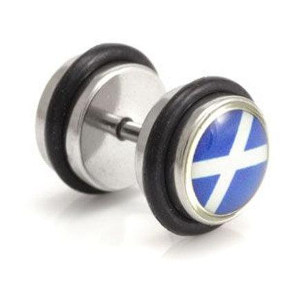 Logo Fake Plug - Scots Flag