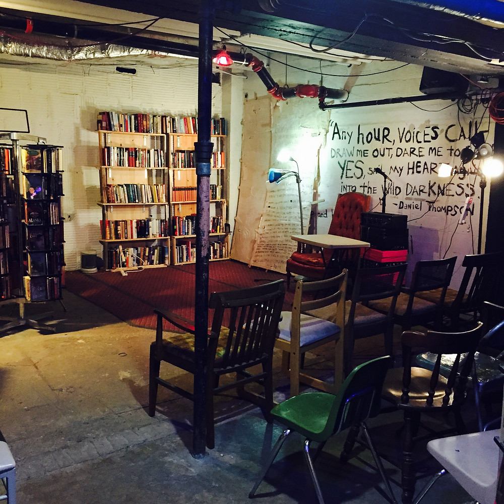 Visithing Guide to Kulchur, a counterculture bookstore in Cleveland, which is *also* also a venue! I wanted to stay there forever.