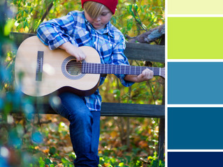 COLOR therapy: greens & blues