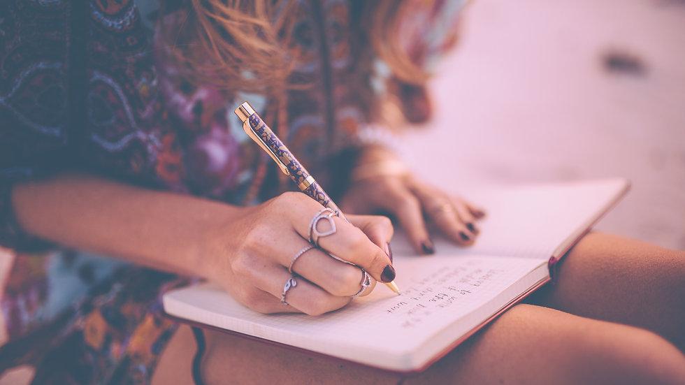 Writing as Ritual: Becoming a Sacred Creator (begins August 10, 2020)