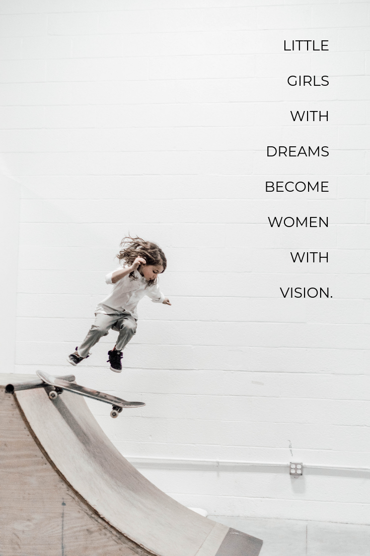 Dreams, Design, Women with Vision, Follow your Dreams, Branding, Website Design