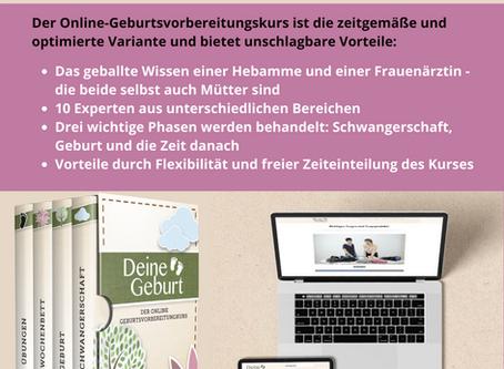 DEINE GEBURT - Der Online Geburtsvorbereitungskurs