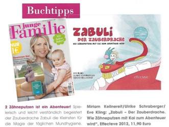 """Buchtipps - Junior Verlag """"junge Familie"""""""
