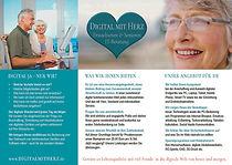 Flyer Senioren IT Beratung Digital mit H