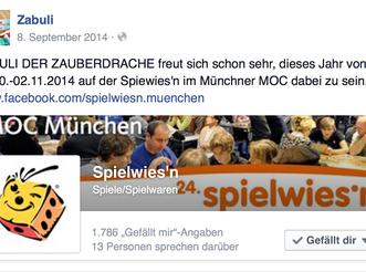 Zabuli goes Spielwies'n 2014