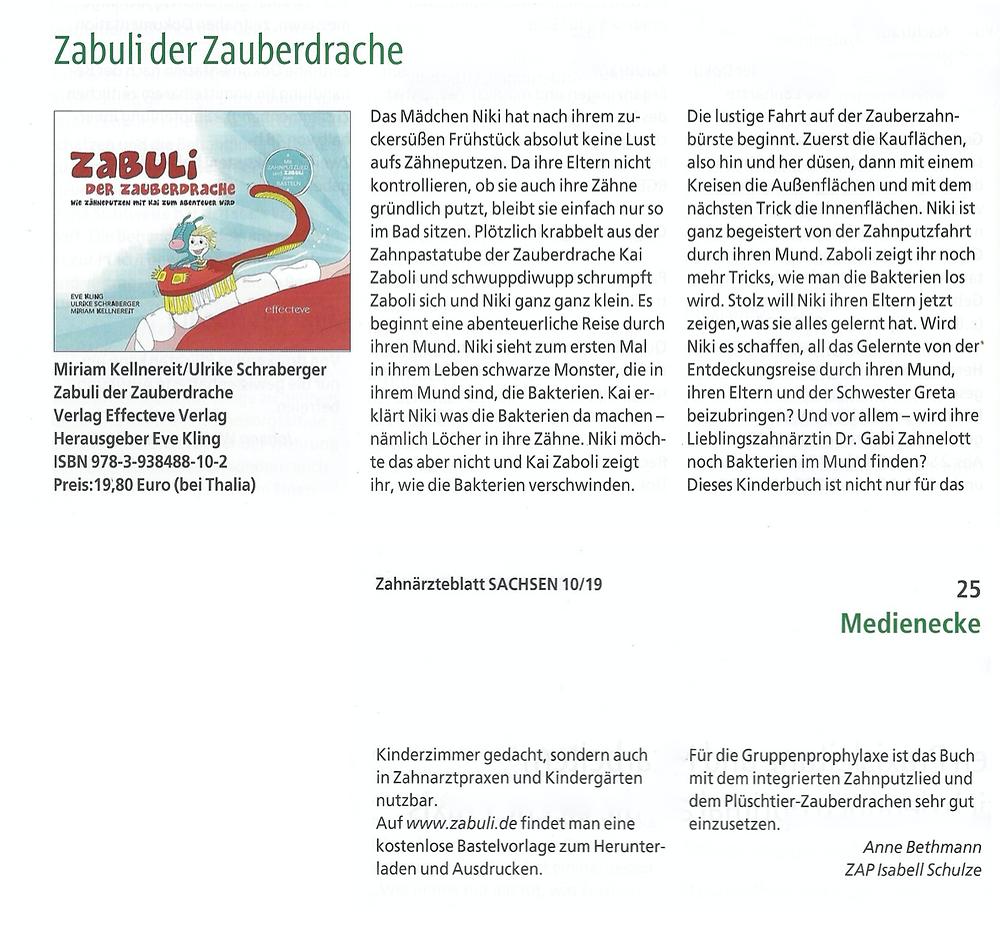 Zahnärzteblatt Sachsen 10/19