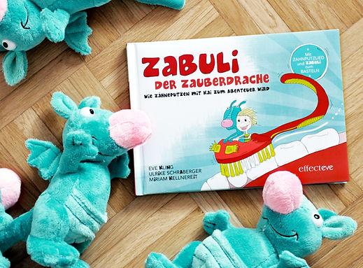 Zabuli Zauberdrache _ Buch und Stofftier