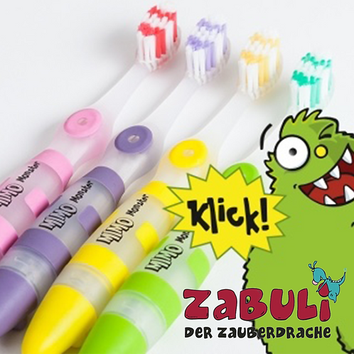 ZABULI-MIMO (Kinder-Zahnbürste mit LED-Licht)