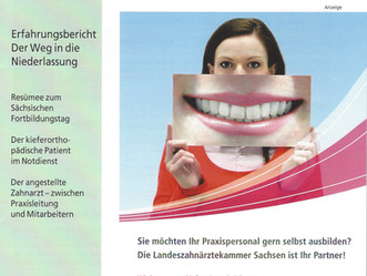 Zabuli im Zahnärzteblatt Sachsen -Landeszahnärztekammer Sachsen
