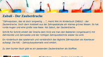 Jugendzahnpflege e.V. (DAJ) empfiehlt Zabuli Zahnputzbuch