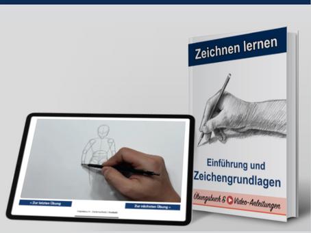 ZEICHNEN LERNEN KURS inkl. Video-Tutorials und eBook