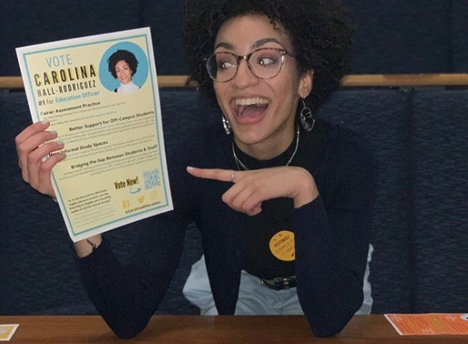 Interview with Carolina Hall-Rodriguez, LUU Education Officer Candidate
