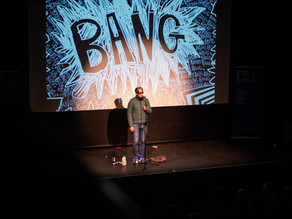 'Bang Said the Gun': Leeds Lit Fest at Carriage Works 05/03/20