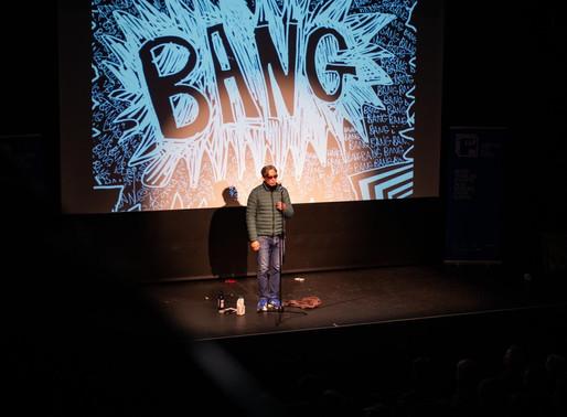 'Bang Said the Gun': Leeds Lit Fest at Carriage Works 05/03/20