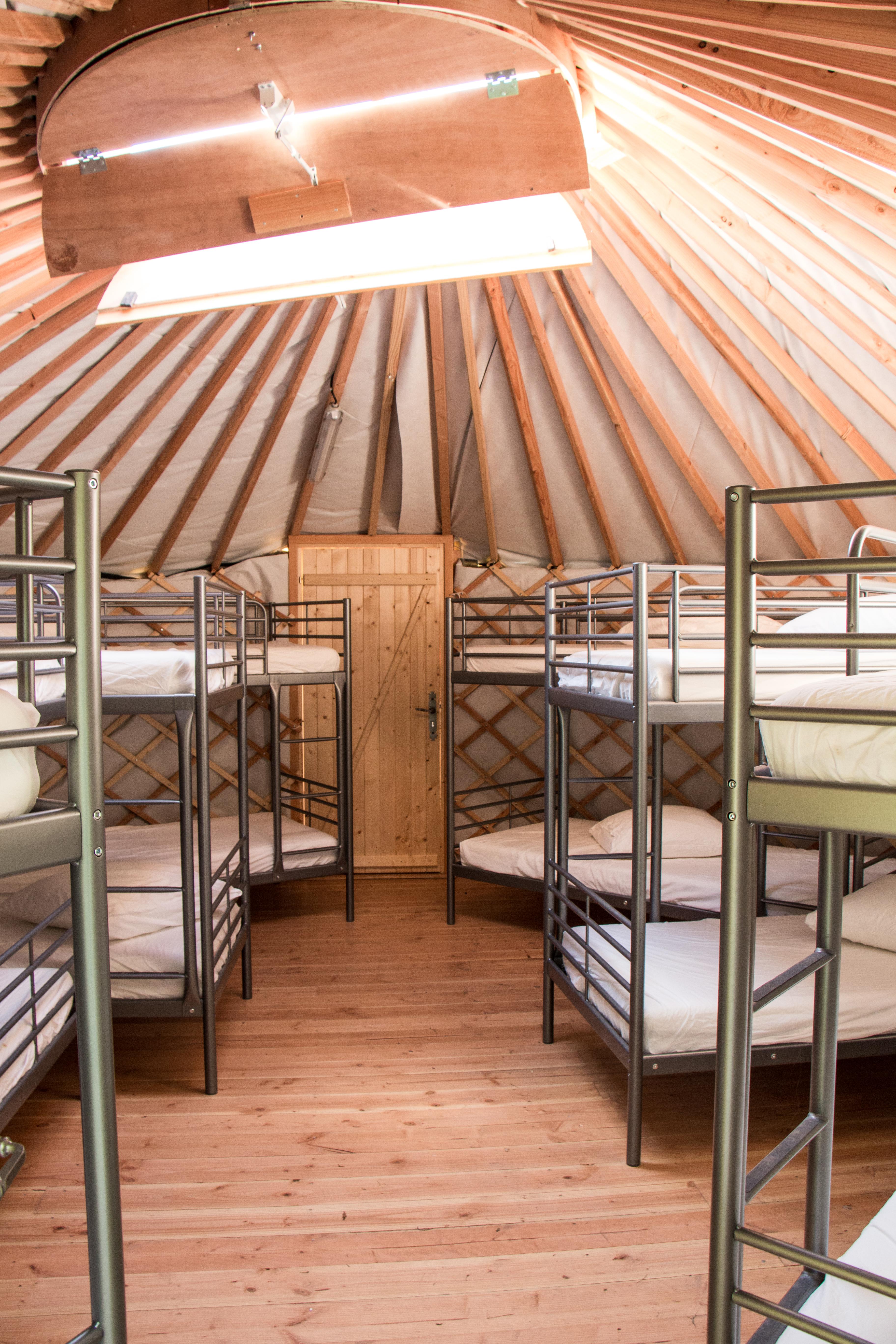 dortoir dans la yourte