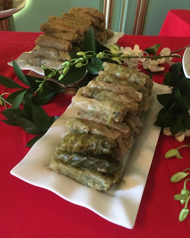 Mama Lamees Waraq Malfoof _wrap cabbage leaves_